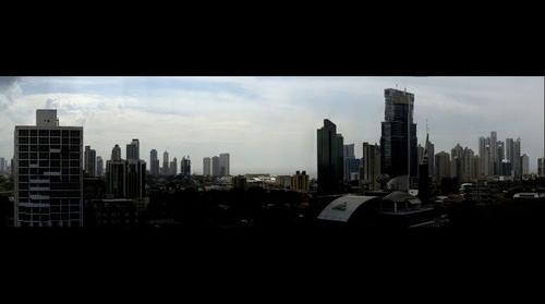 Panama City - Just buildings @ cloudy day