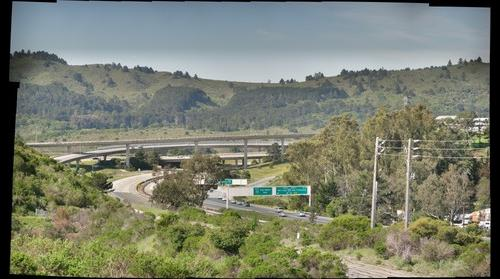 San Mateo 92 & 280 interchange