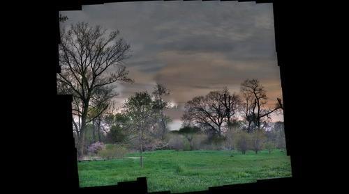 Washington Park at Sunset