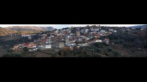San Esteban de la Sierra desde el Cancho