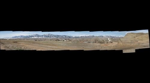 Big Boulder Panorama from near recycling station