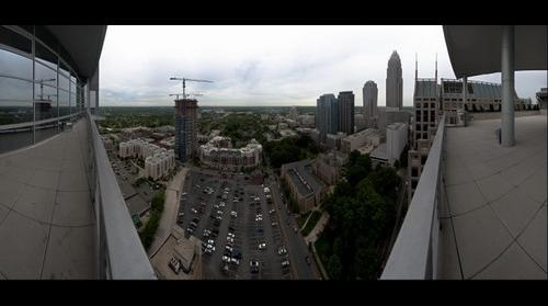 Charlotte's Skyline from The Trademark - Penthouse Level