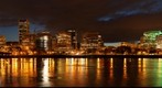 Portland Night Skyline 1