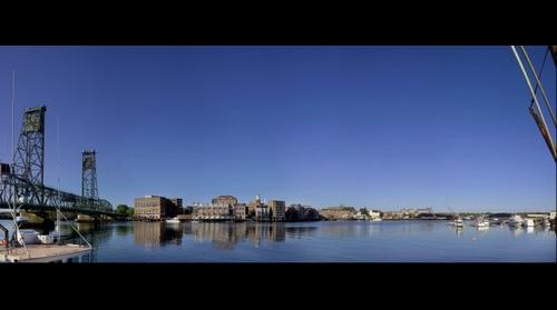 Portsmouth NH Waterfront Panorama