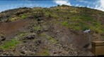Kawela Gulch, Molokai, USGS soil erosion study site - Inside the enclosure, 4/27/2009