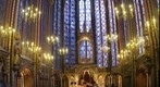 Sainte Chappelle interior, Paris, France