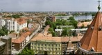 Szeged panorama East from the Tower of the Cathedral