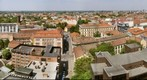 Szeged panorama North from the Tower of the Cathedral