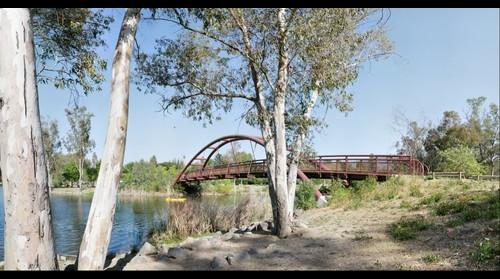 Pedestrian Bridge, Vasona Park, Los Gatos, California