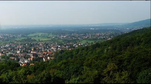From the Alsbach Tower