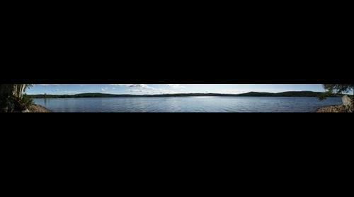 Tyngsjön Lake Panorama