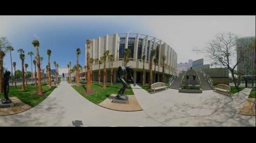 Rodin Sculpture Garden, LACMA, Los Angeles