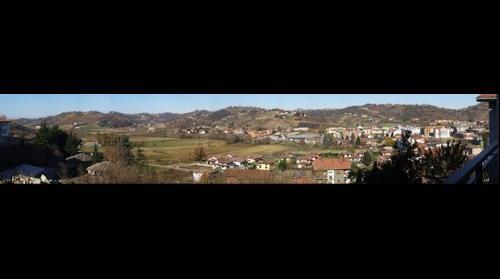 La Piana di Mombercelli vista dal paese