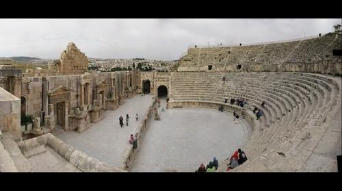 South Theater, Jerash, Jordan