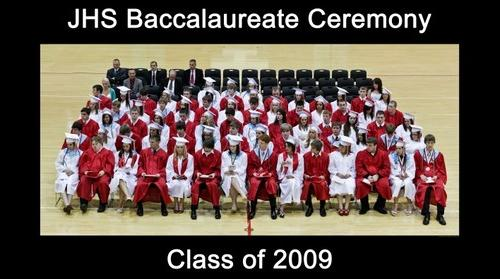 Jackson High School Class of 2009 Baccalaureate Ceremony