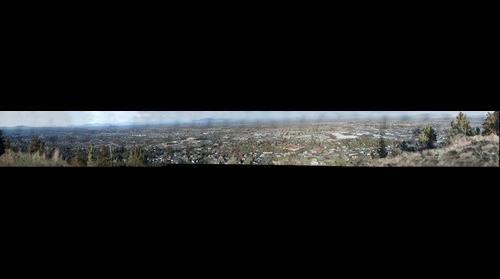 View from Pilot Butte, Bend Oregon looking East
