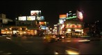 M.G. Road and Brigade Road at night, Bangalore