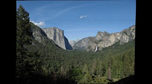 Tunnel View, Yosemite, 2009