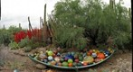 Phoenix, AZ - Desert Botanical Garden Chihuly Exhibit: &#39;Float Boat&#39;
