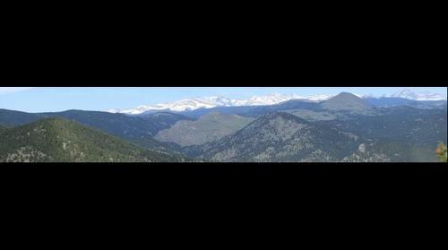 Realization Point Full Detail- Flagstaff Mountain, Boulder, Colorado