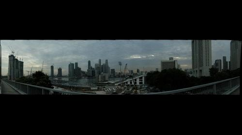 Singapore from Benjamin Sheares Bridge