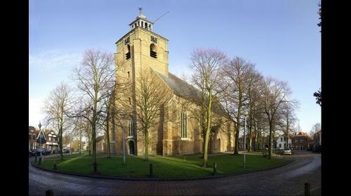 Dutch reformed church in Oude-Tonge
