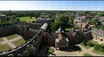 St. John's College, Cambridge, view northwest from the chapel tower