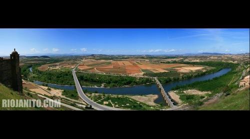 vista desde san Vicente de la Sonsierra