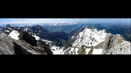 View from Saentis (2502m nn)