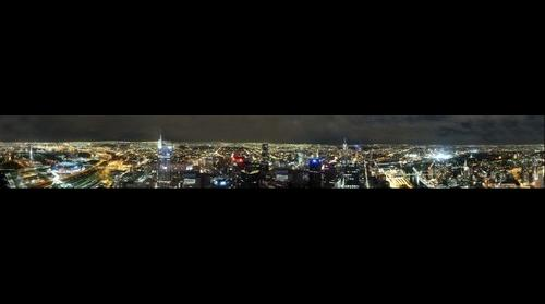 Melbourne Australia from the Rialto Towers