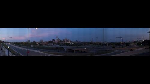 Downtown Denver Sunset 2009-05-17