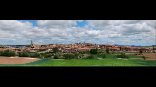Panoramica Ciudad de Lerma - Burgos - Spain.