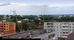 Center of Bronnitsy from roof (Russia)
