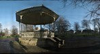 Hexham Abbey Grounds, Bandstand & Abbey