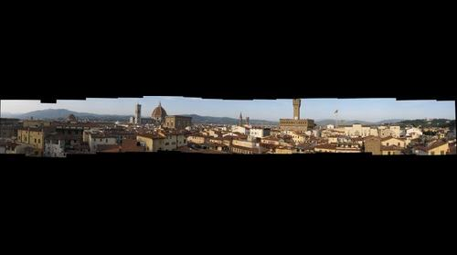 Florence Italy from Torre Guelfa