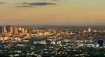 Sunset from Mt Cootha