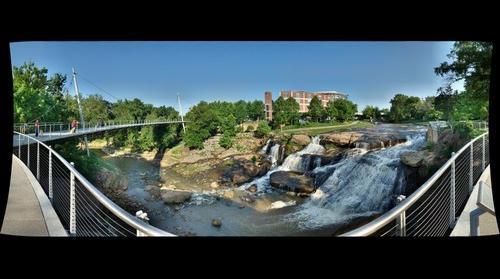 Reedy River Park,  Greenville, SC