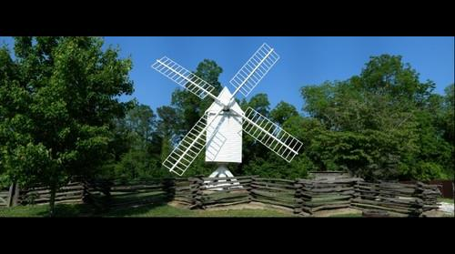 Windmill at Williamsburg
