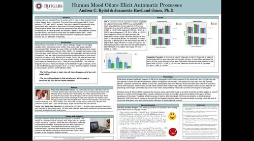 whereRU: Aresty Poster 176 - Human Mood Odors