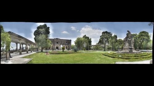 Jardin Castillo Chapultepec