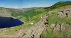 Lough Tay&#39;s Guinness Lake in Sally Gap, Ireland