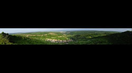 Vue Panoramique de la route de Orches sur la Bourgogne (v2)