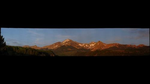 Sunset on the LaPlata Mountains