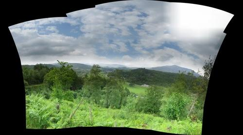 North Wales near Betws-y-coed