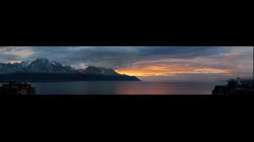 lac leman de montreux 12.1.08 17h30