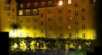 Apartment blok where i live, at night