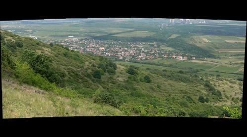 Abasár látképe a Sár-hegyről
