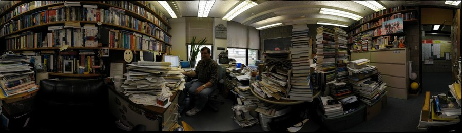 Mark Stehlik's office, Carnegie Mellon University