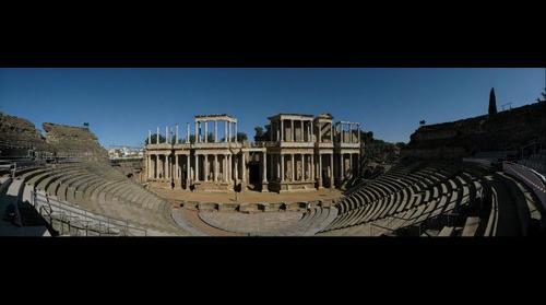 Teatro romano de Merida, The Roman Theatre in Merida