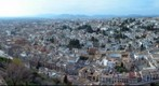 Granada, desde la Torre de la Vela de la Alhambra